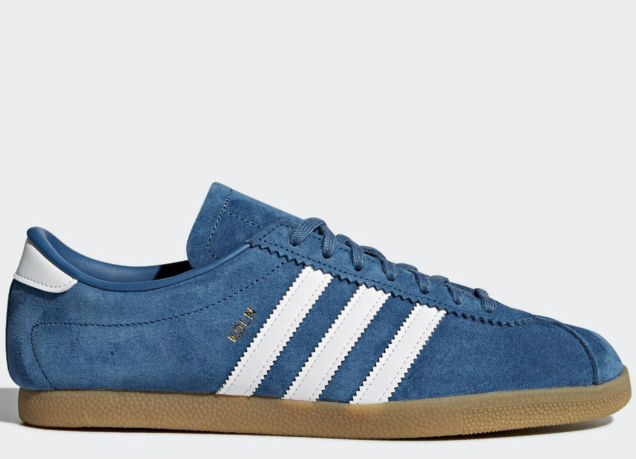 Adidas Köln Shoes - Core Blue / Footwear White / Gum