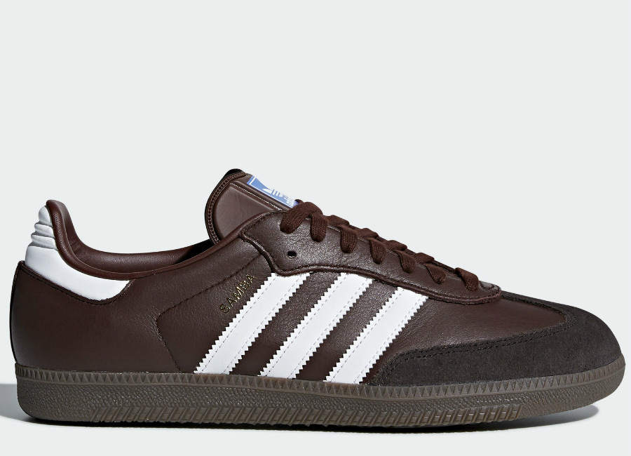Adidas Samba OG Shoes - Mystery Brown / Core Black / Night Brown