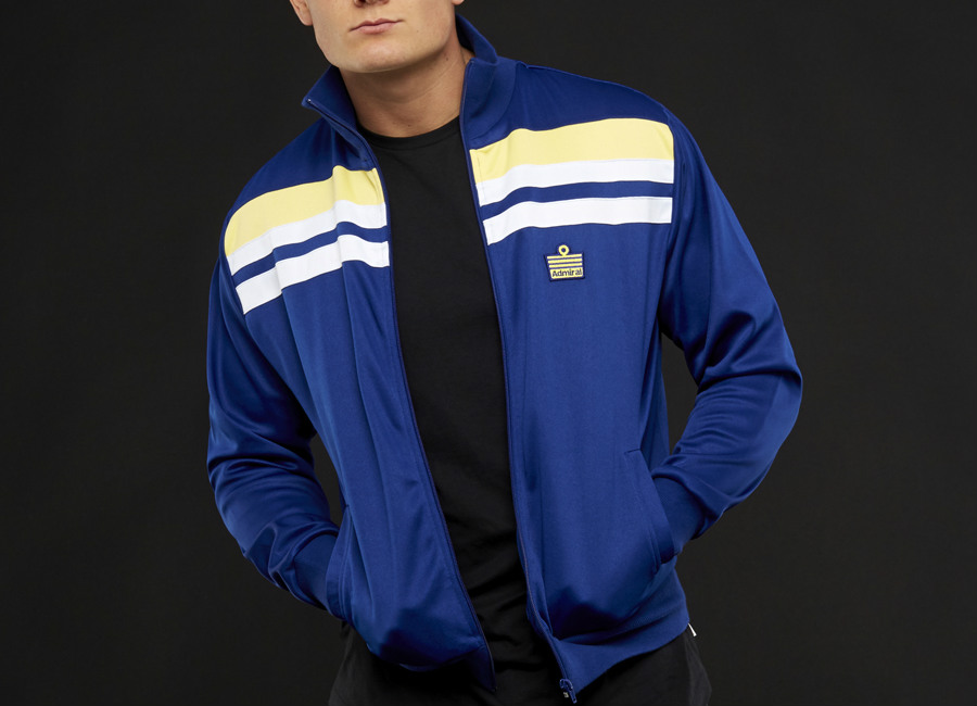 Admiral 1982 Track Jacket - Royal / Royal / Lemon