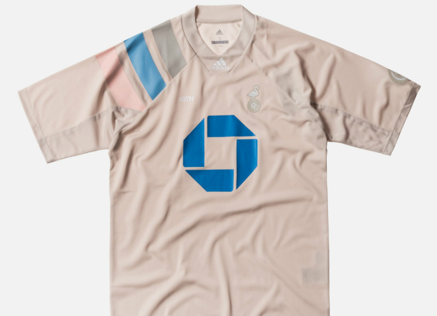 Kith X Adidas - Miami Flamingos Home Jersey - Tan