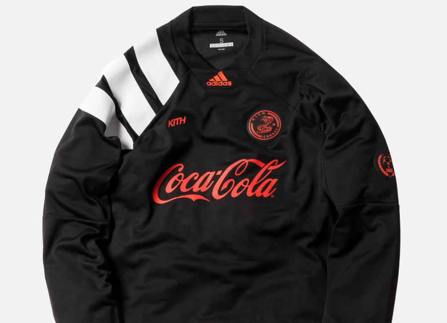 Kith X Adidas - New York Cobras Home L/S Jersey - Black
