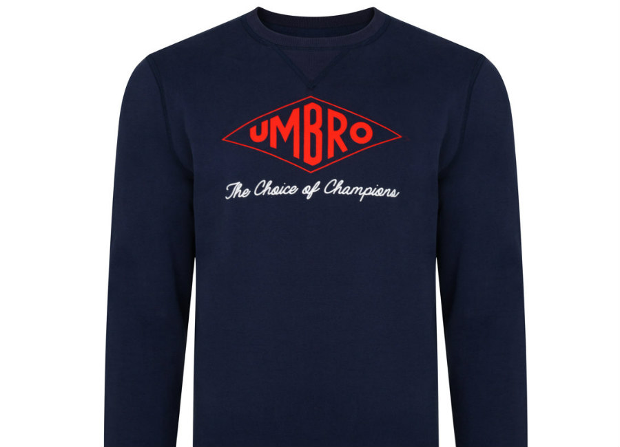 Umbro Choice Of Champions Sweat - Navy / Red