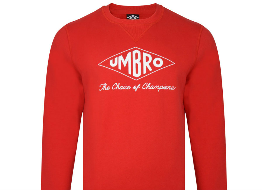 Umbro Choice Of Champions Sweat - Red / White