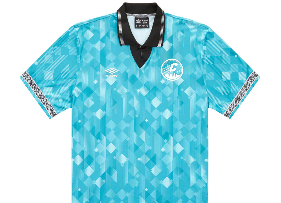 Umbro X Crepe City Third Football Shirt - Teal
