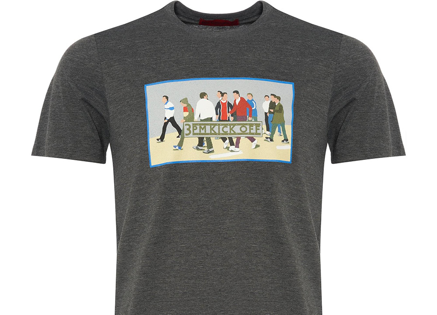80's Casuals - 3PM Kick Off T-Shirt - Grey Marl