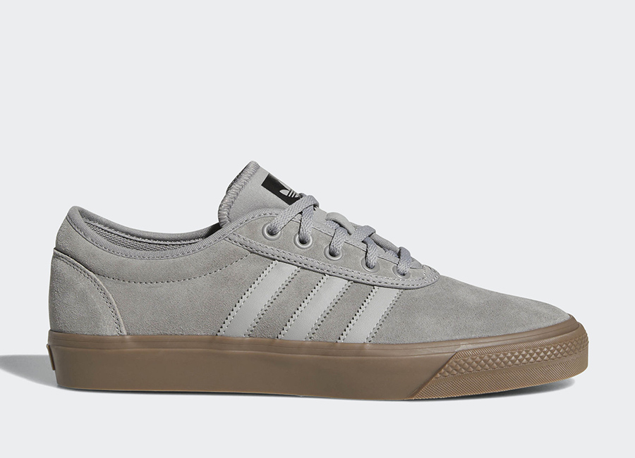 Adidas Adiease Shoes - Ch Solid Grey / Mgh Solid Grey / Gum5