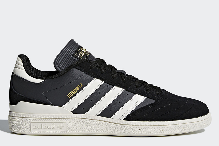 Adidas Busenitz Pro Shoes - Core Black / Chalk White / Dgh Solid Grey