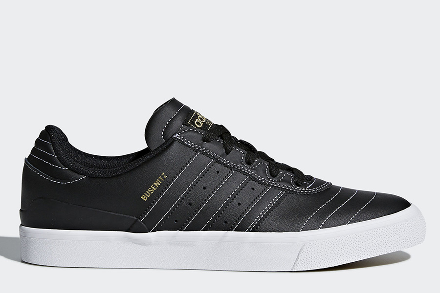 Adidas Busenitz Vulc Shoes - Core Black / Core Black / Ftwr White