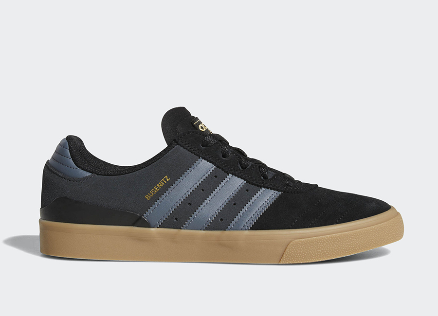 Adidas Busenitz Vulc Shoes - Core Black / Onix / Gum4
