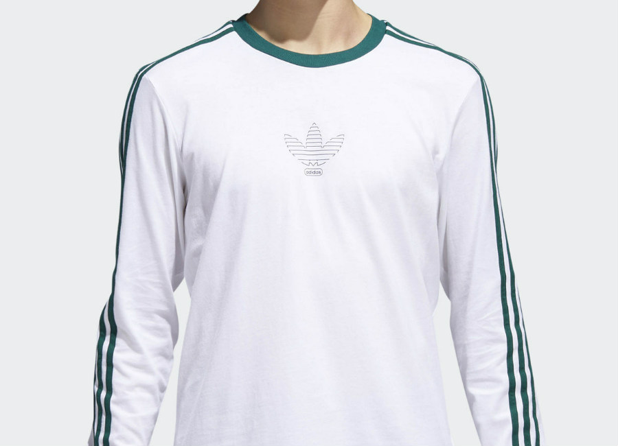 Adidas Club Tee - White / Collegiate Green