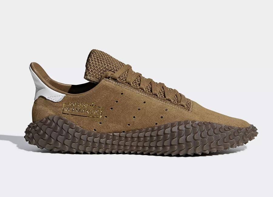 Adidas Kamanda 01 Shoes - Brown / Raw Desert / Crystal White