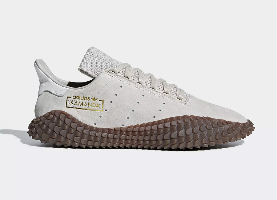 Adidas Kamanda 01 Shoes - Clear Brown / Clear Brown / Crystal White