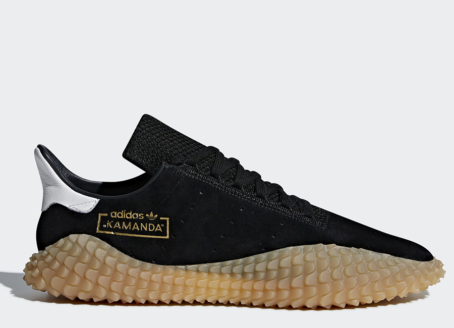 Adidas Kamanda Shoes - Core Black / Core Black / Gum