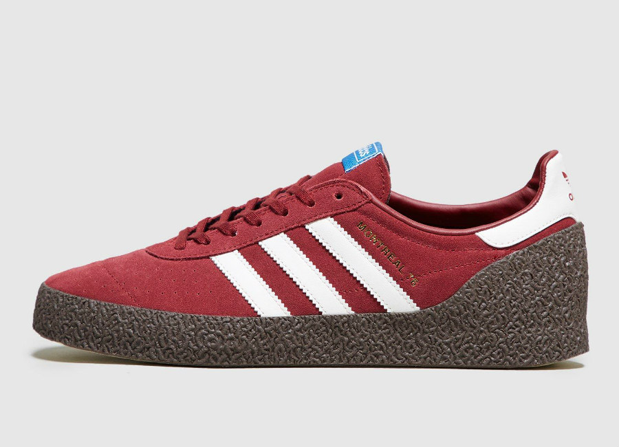 Adidas Montreal 76 - Noble Maroon / Off White / Gum5