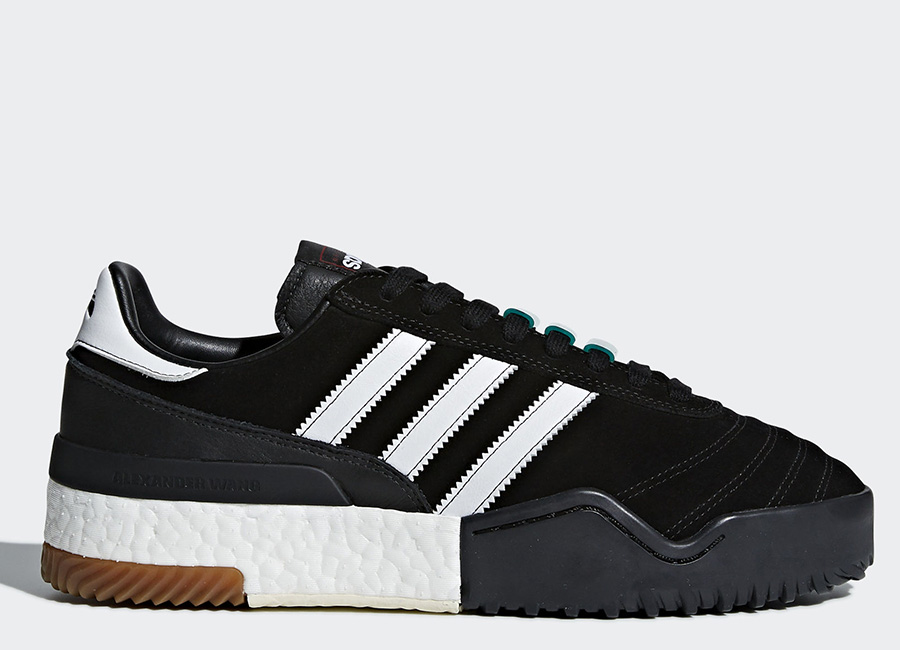 Adidas Originals By Alexander Wang Soccer Shoes - Core Black / Ftwr White / Core Black