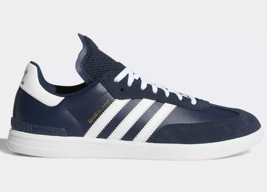 Adidas Samba ADV Shoes - Collegiate Navy / Ftwr White / Ftwr White