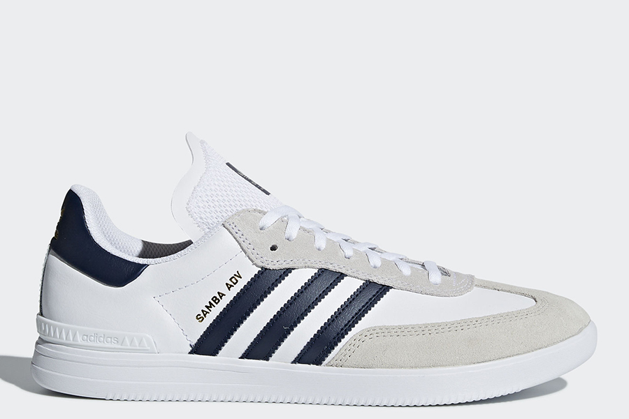adidas samba adv shoes ftwr white collegiate navy. Black Bedroom Furniture Sets. Home Design Ideas
