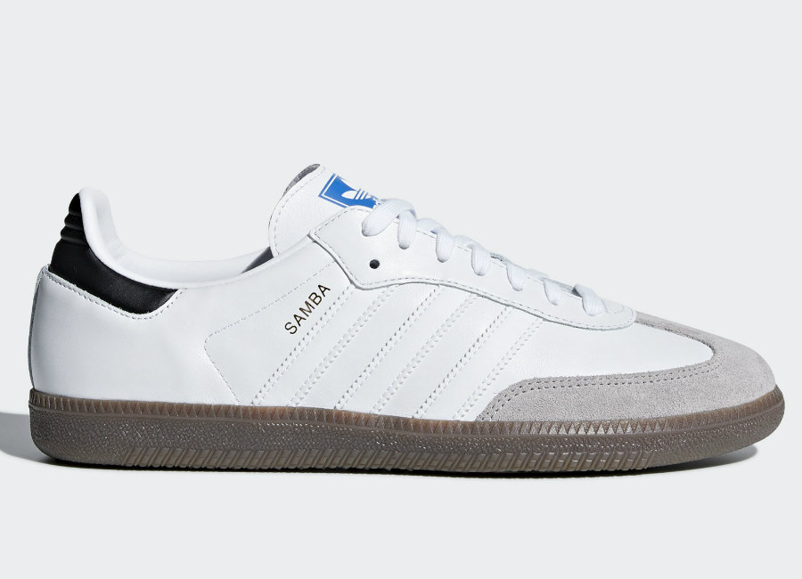 Adidas Samba OG Shoes - Ftwr White / Core Black / Clear Granite
