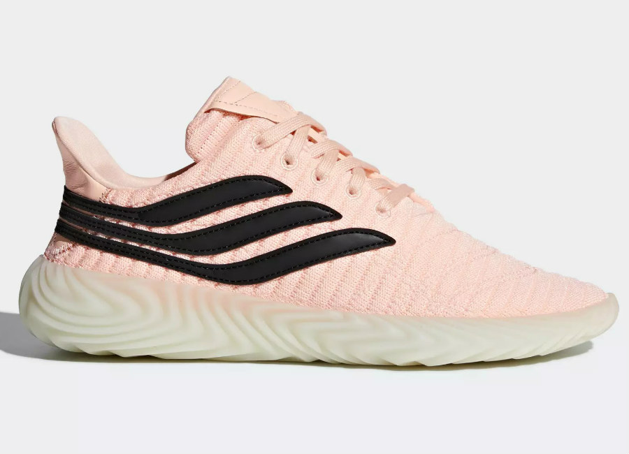 Adidas Sobakov Shoes - Clear Orange / Core Black / Crystal White