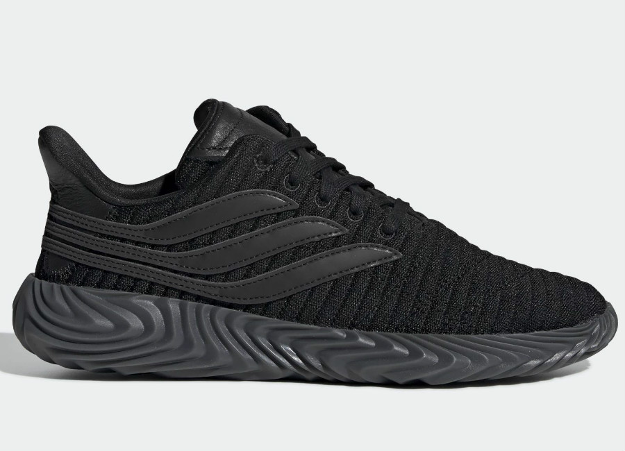 Adidas Sobakov Shoes - Core Black / Core Black / Core Black