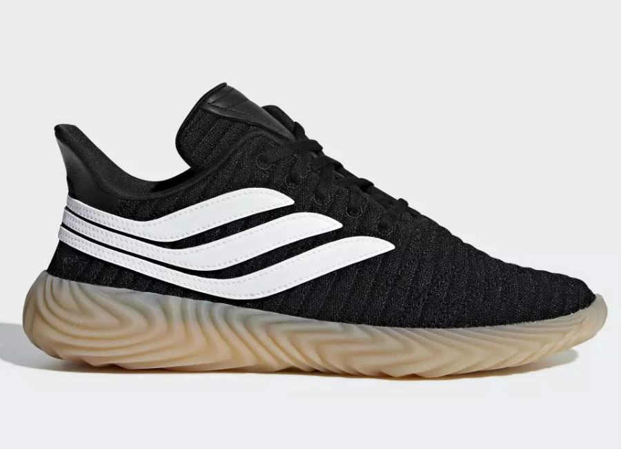 Adidas Sobakov Shoes - Core Black / Ftwr White / Gum 3