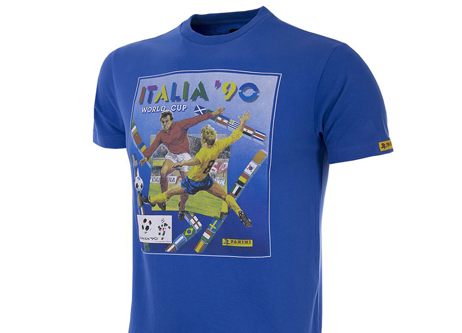 Copa Panini Heritage Fifa World Cup 1990 T-shirt - Blue
