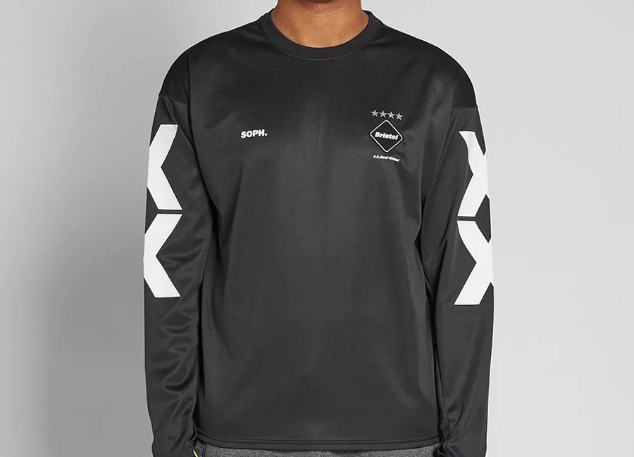 FC Real Bristol Long Sleeve Tour Tee - Black