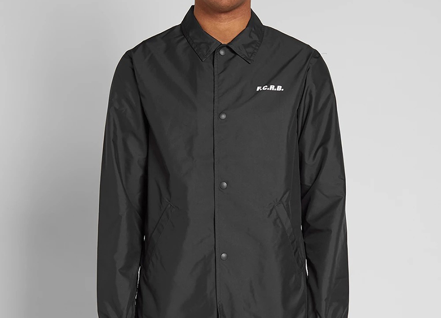 FC Real Bristol Supporter Coach Jacket - Black