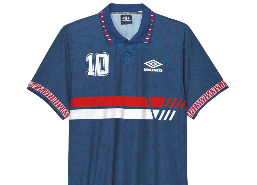 Umbro France Football Jersey - France Blue