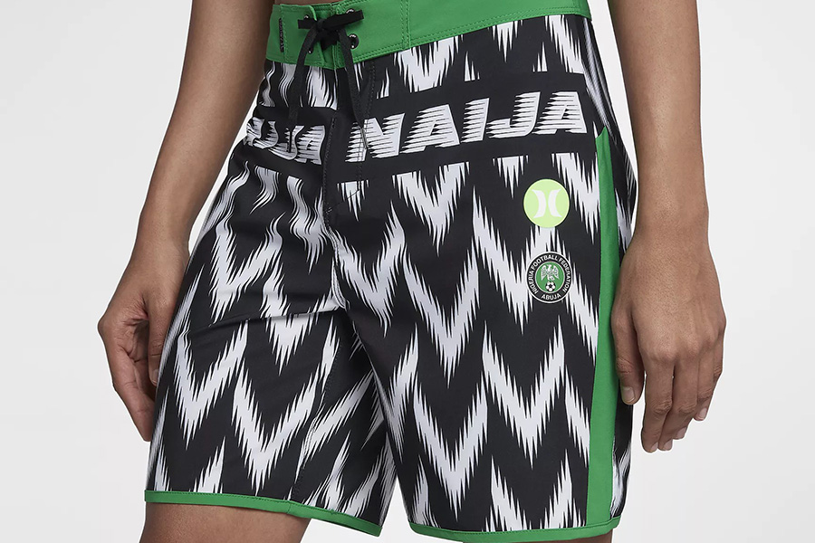 Hurley Phantom Nigeria National Team - Black