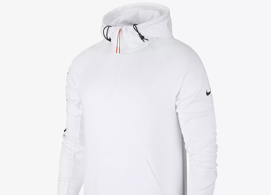 Nike F.C. Football Hoodie - White / Black