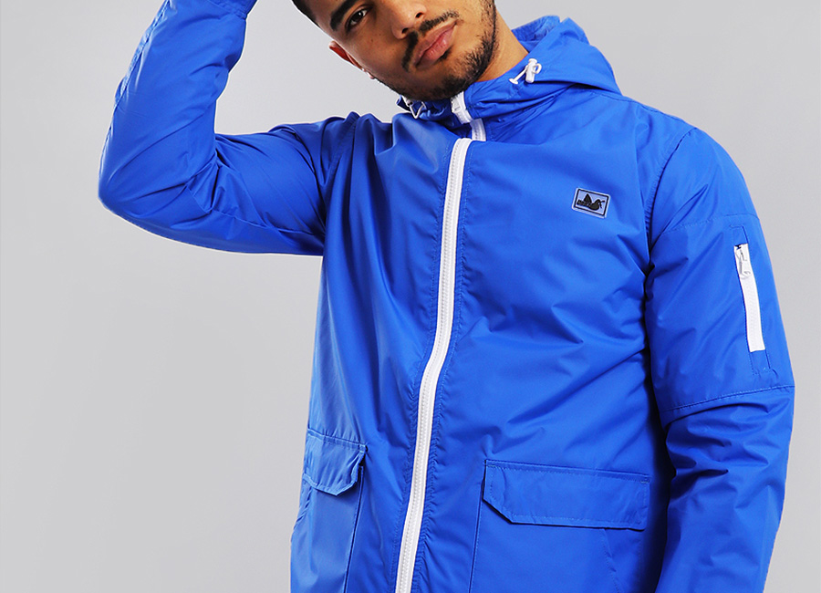 Peaceful Hooligan Caine Jacket - Cobalt