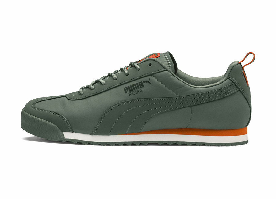 Puma Roma Fight or Flight Trainers - Laurel Wreath / Firecracker