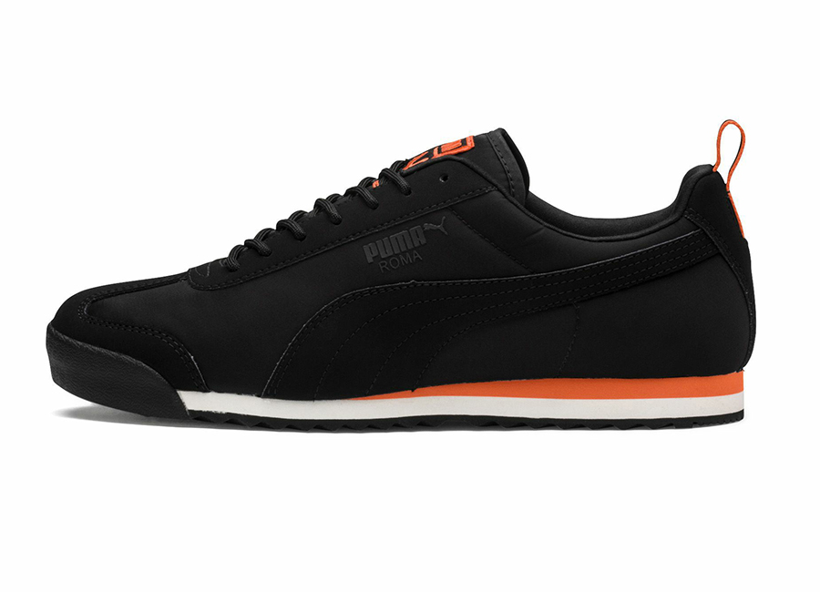 Puma Roma Fight or Flight Trainers - Puma Black / Firecracker