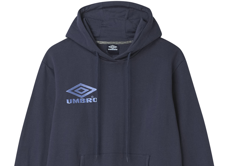 Umbro Classico OH Hood - Blue Nights