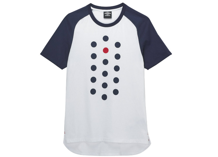 Umbro Formation Tee - Brilliant White / Eclipse