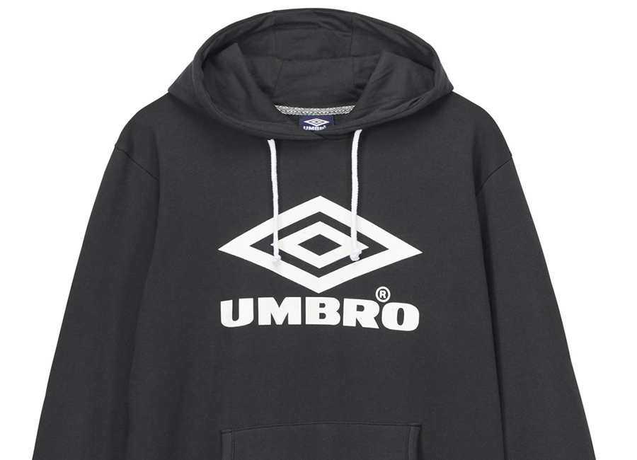 Umbro Logo Hoody - Black