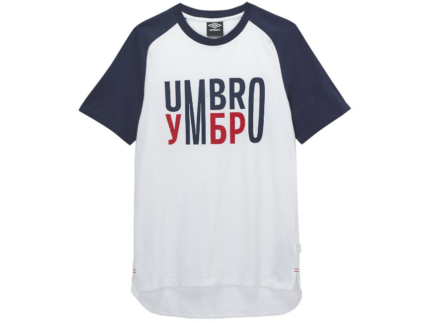 Umbro Team Tee - Brilliant White / Eclipse