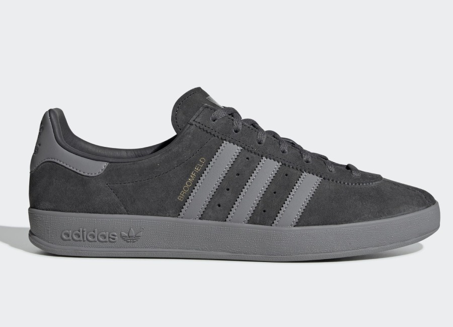 Adidas Broomfield Shoes - Grey Six / Grey Three / Gold Met
