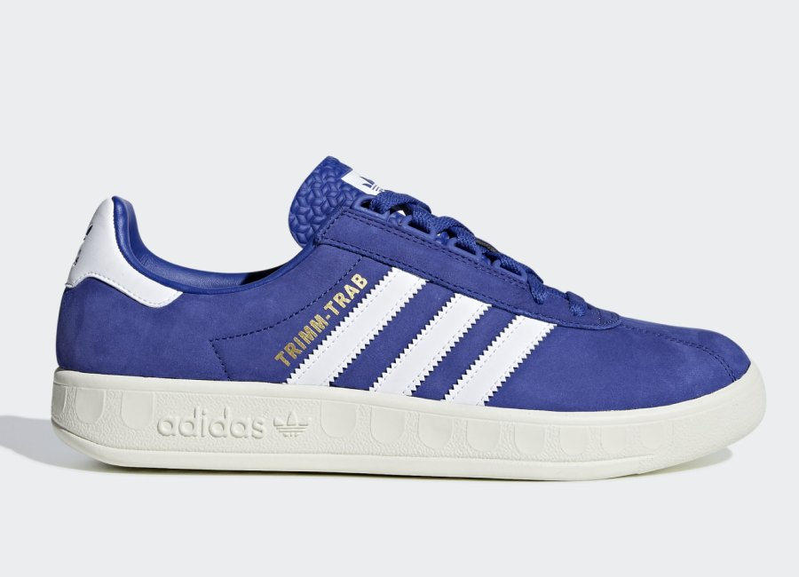 Adidas Trimm Trab 'Rivalry Pack' - Active Blue / Ftwr White / Gold Met #everton #evertonfc