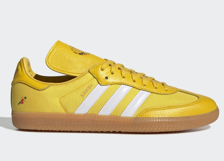 Adidas Oyster Holdings Samba Og Shoes - Eqt Yellow / Ftwr White / Gold Met