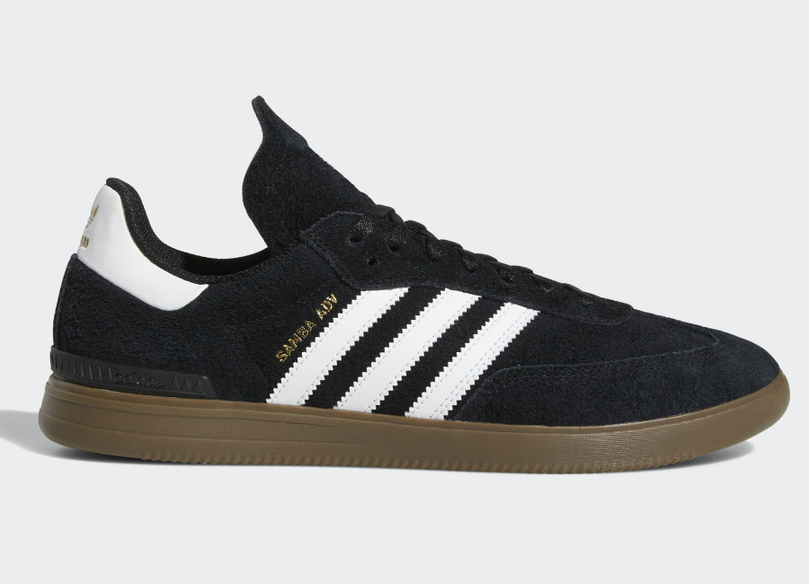 Adidas Samba ADV Shoes - Core Black / Cloud White / Gum