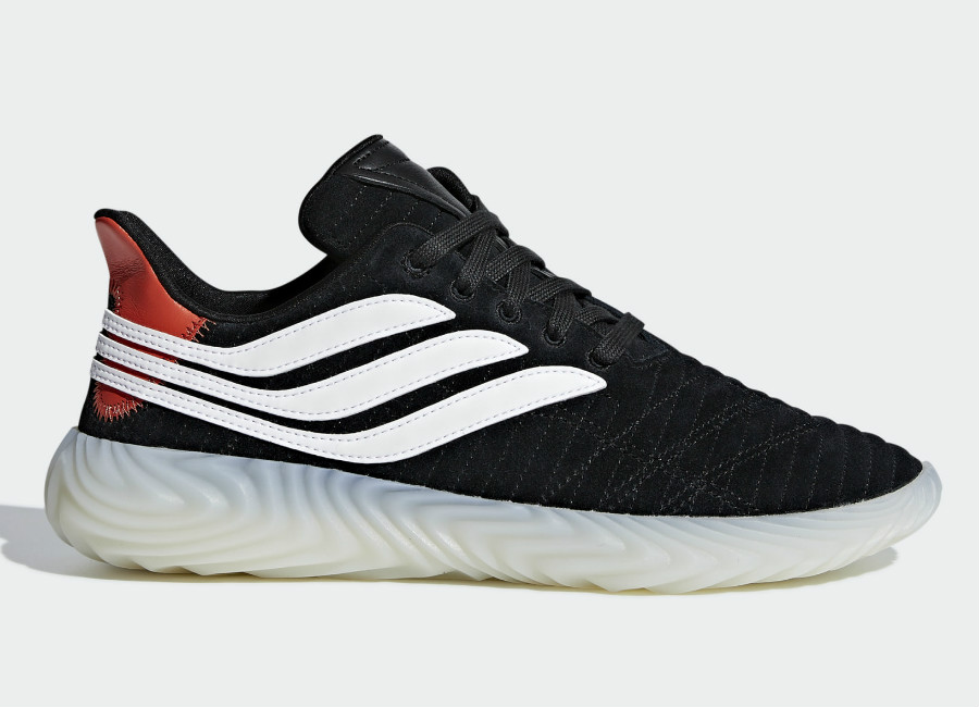Adidas Sobakov Shoes - Core Black / Off White / Raw Amber