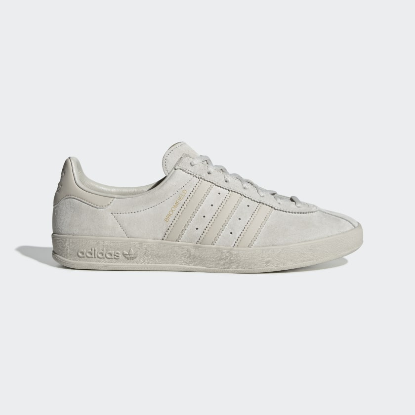 Adidas Broomfield - Raw White / Clear Brown / Gold Met
