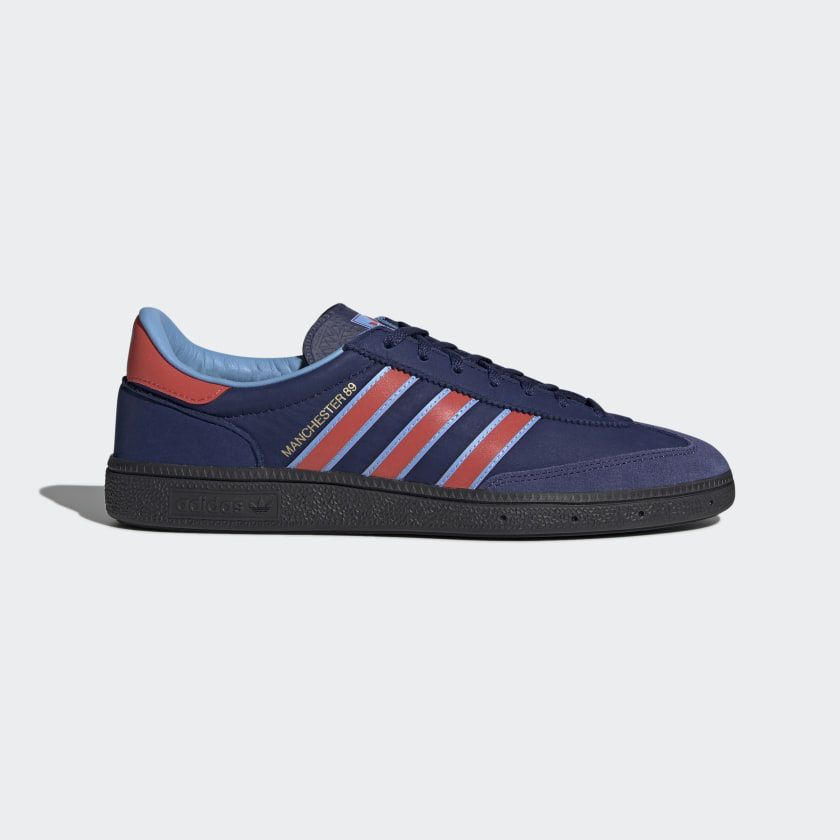 Adidas Manchester 89 SPZL - Dark Blue / Bright Red / Light Blue