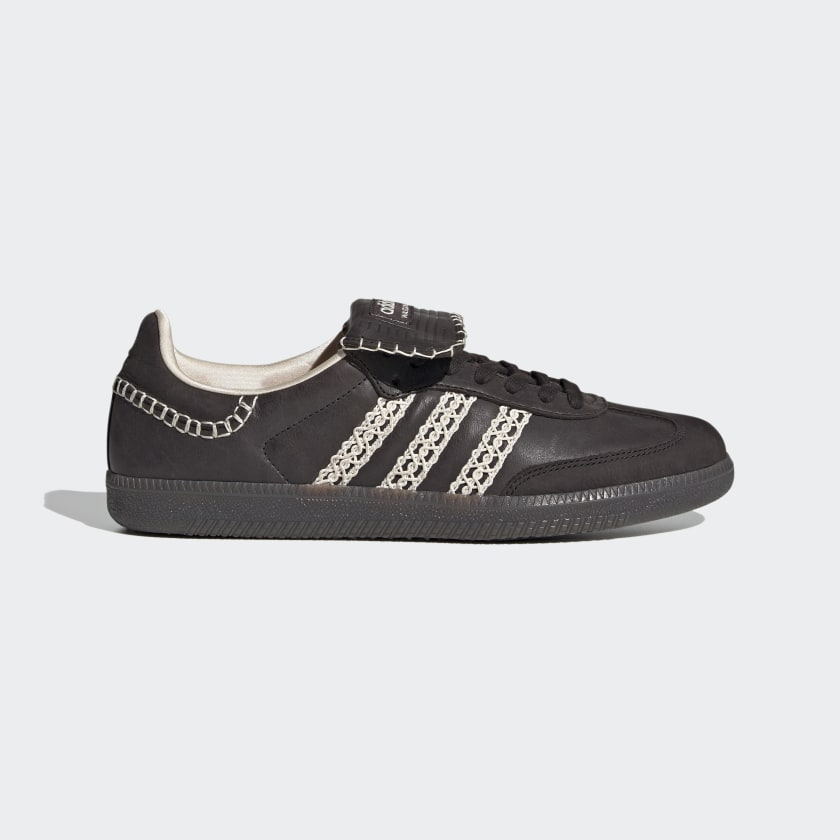 Adidas Wales Bonner Samba - Core Black / Cream White / Core Black