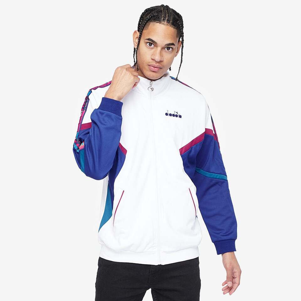 Diadora Offside Track Jacket - Optical White