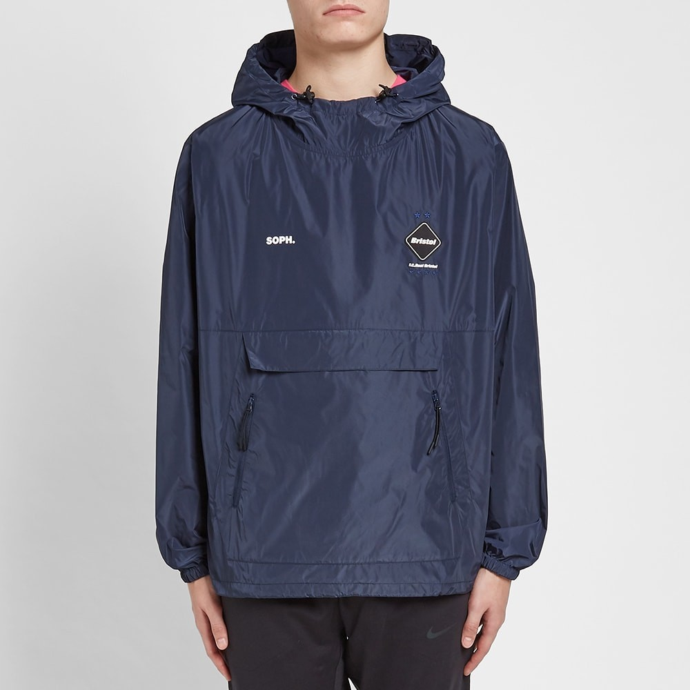 F.C. Real Bristol Packable Anorak - Navy