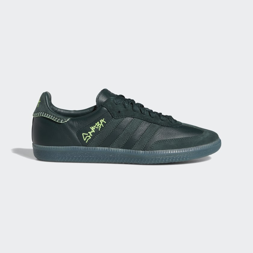 Adidas Jonah Hill Samba - Green Night / Mineral Green / Ecru Tint