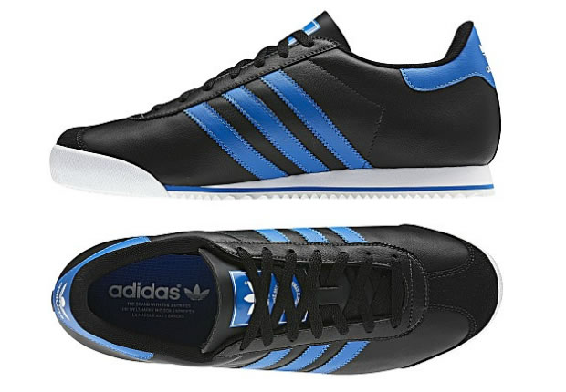 Adidas Kick- Black / White / Bluebird